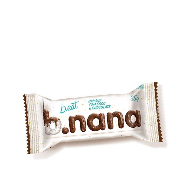 B.nana Coco com Chocolate (Unidade-35g) B-Eat