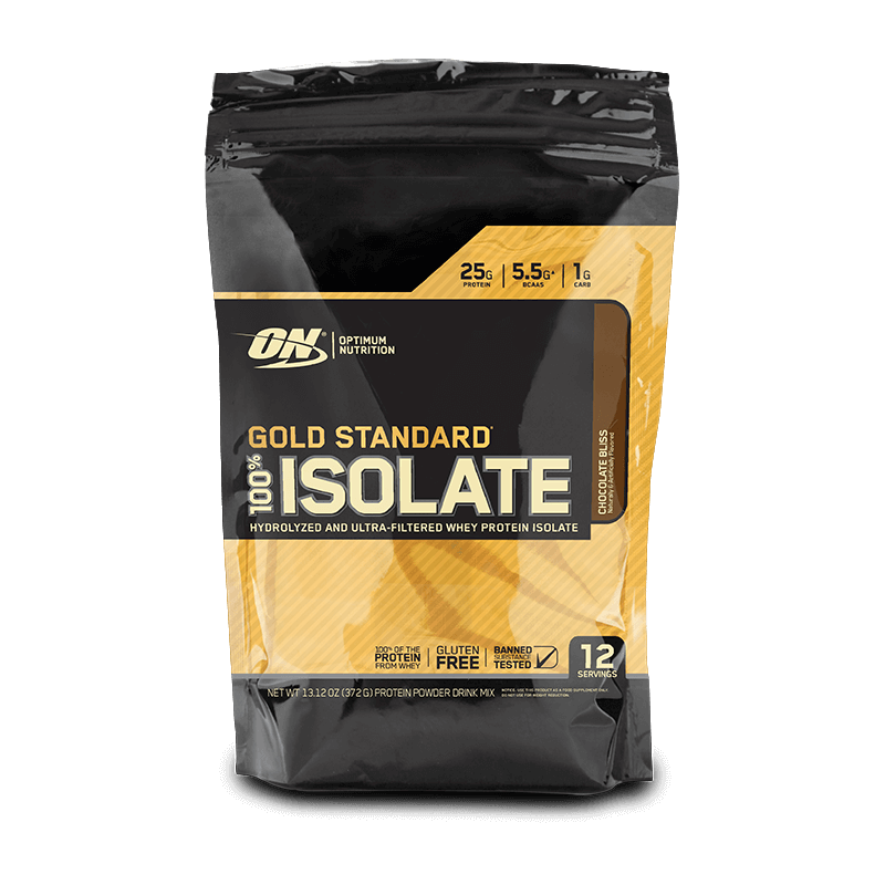 100% Whey Gold Isolate (0.79lbs/360g) Optimum Nutrition