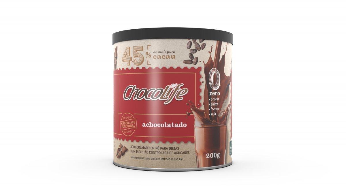 Achocolatado 45% Cacau (200g) Chocolife