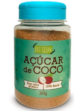 Açúcar de Coco (300g) Eat Clean