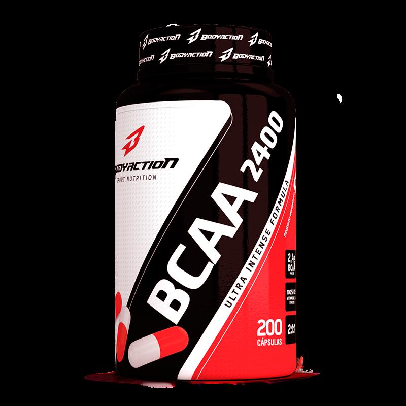 BCAA 2400 (200caps) BodyAction