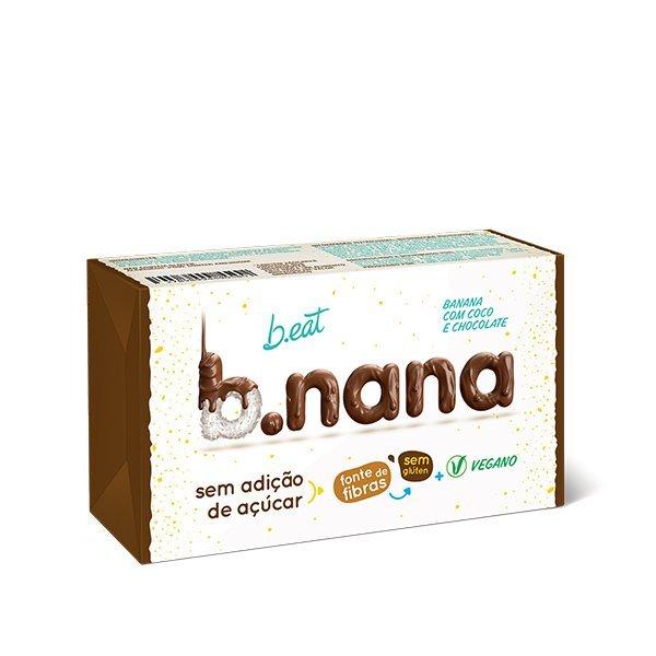 B.nana Coco com Chocolate Pack (3unid-35g) B-Eat