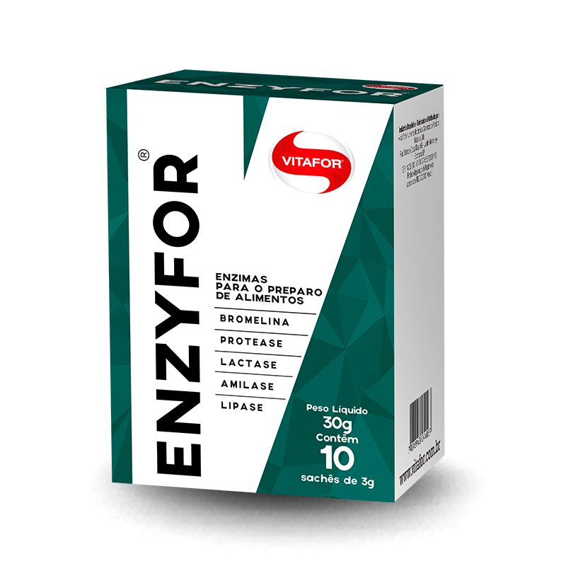 EnzyFor (10 Sachês de 3g) Vitafor