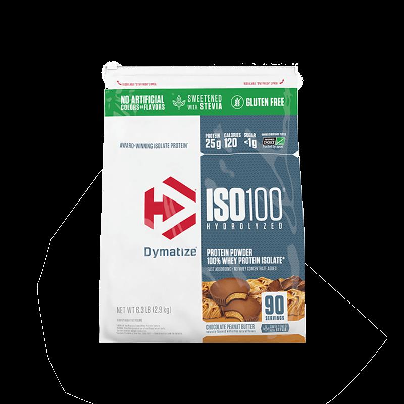 ISO 100 - 100% HYDROLYZED STEVIA (5.9LB/2700G) DYMATIZE