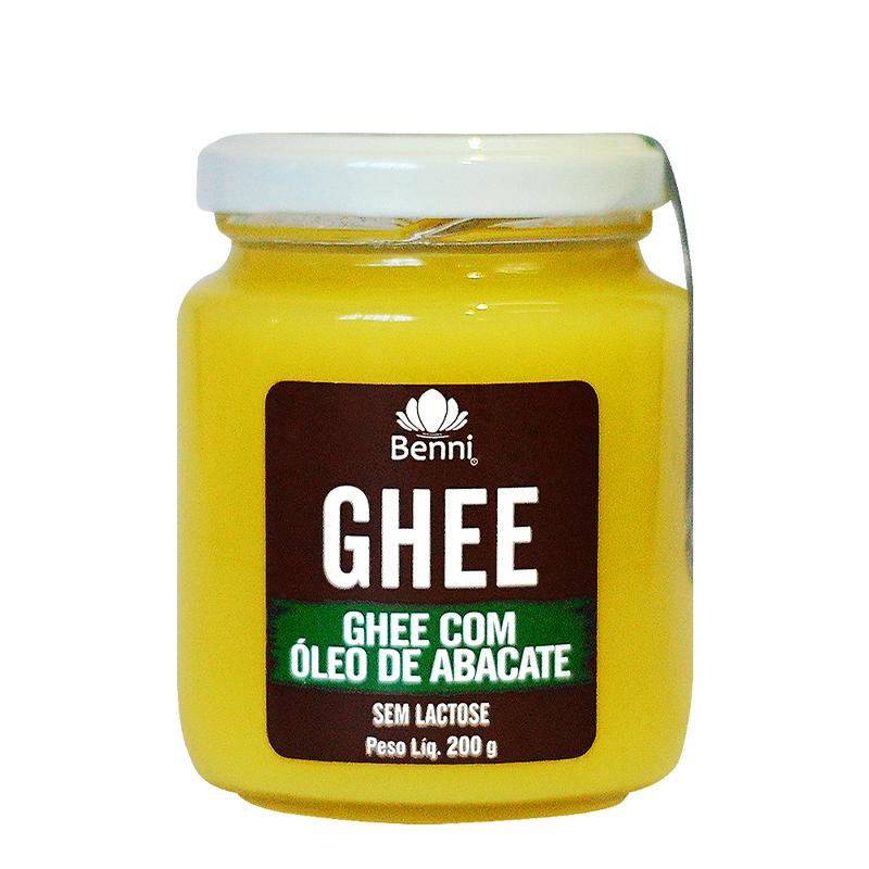 Manteiga Ghee com Óleo de Abacate (200g) Benni