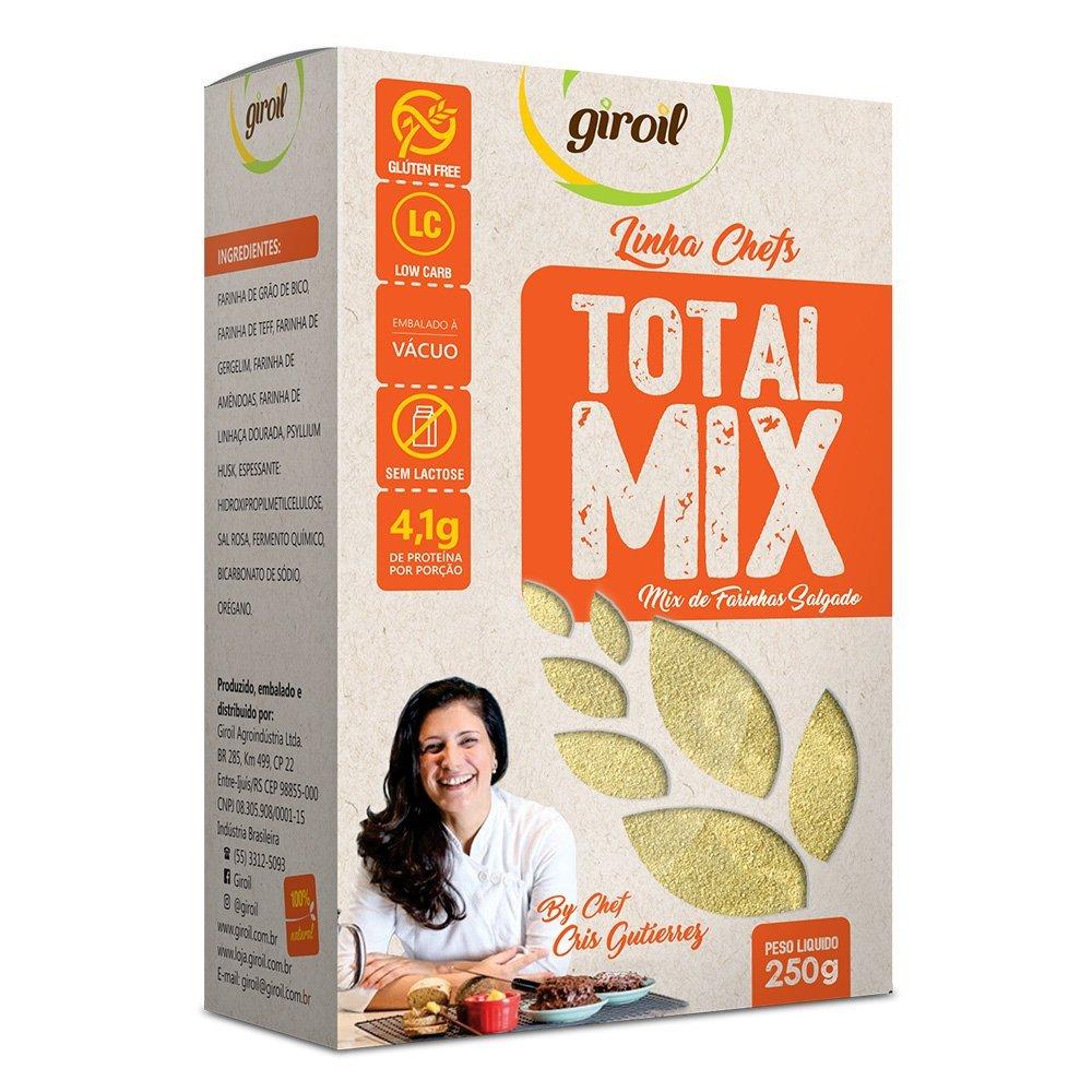 Mix de Farinhas Salgado Total Mix 250g - Giroil
