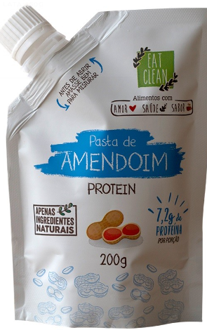 Pasta de Amendoim Protein (200g) Eat Clean