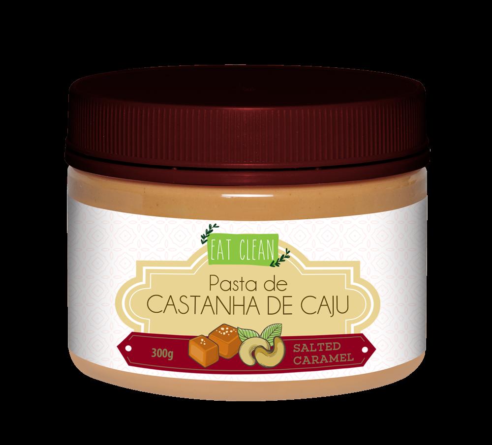 Pasta de Castanha de Caju Salted Caramel (300g) Eat Clean