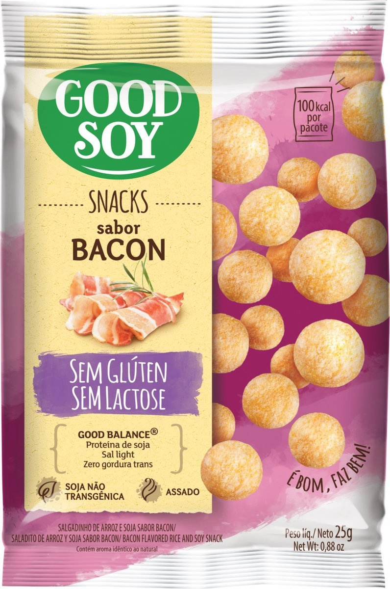 Snack de Soja Bacon (25g) Good Soy