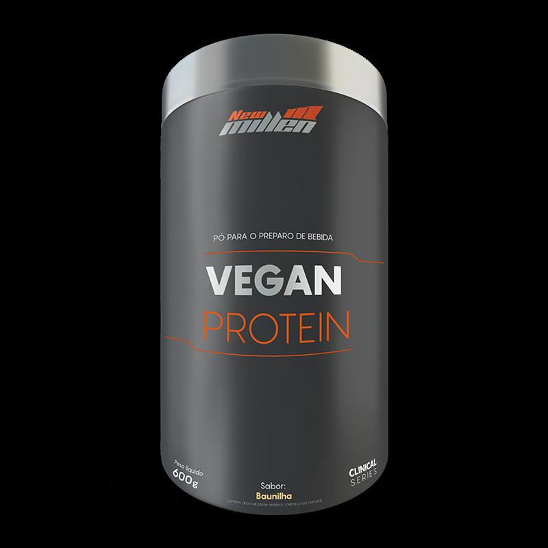 Vegan Protein (600g) New Millen-Baunilha