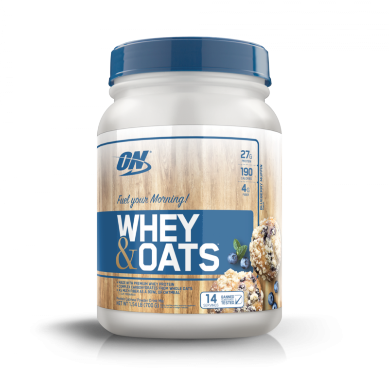 Whey & Oats (1.5lb/700g) Optimum Nutrition