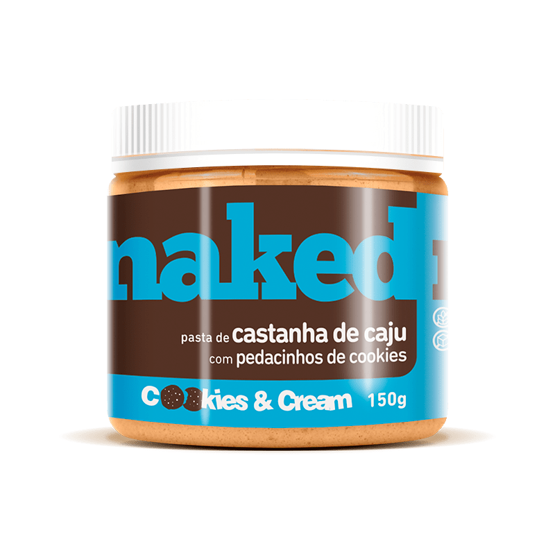 Pasta de Castanha de Caju com Cookies (150g) Naked Nuts