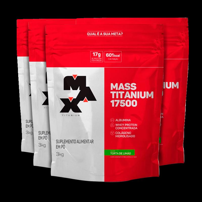 Mass Titanium 17500 Refil (4x3000g) Max Titanium