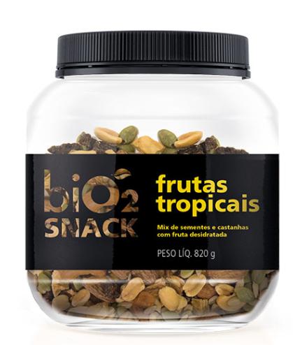 Snack Frutas Tropicais (820g) biO2