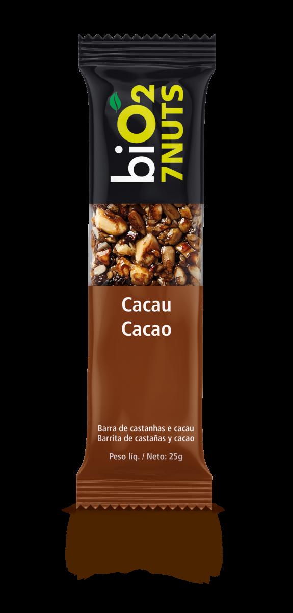 Barra 7 Nuts Cacau (25g) BiO2