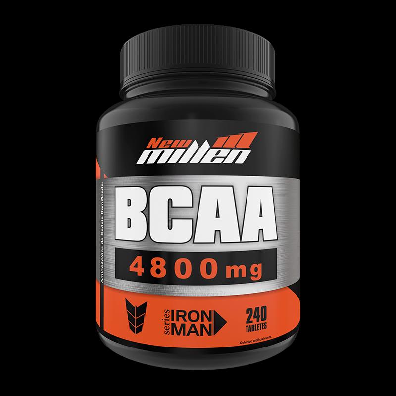 BCAA 4800mg (240tabs) New Millen