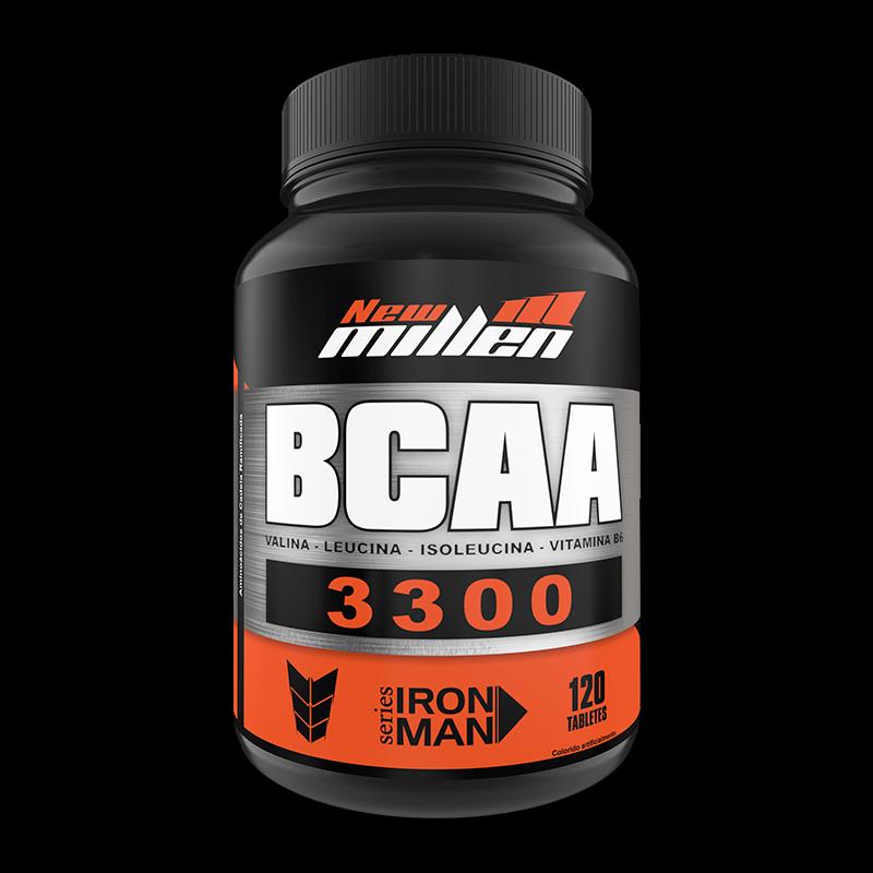 BCAA 3300mg + D-Ribose (120tabs) New Millen
