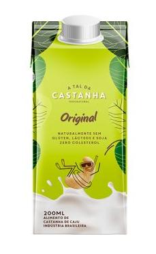Bebida de Castanha de Caju Original (200ml) A Tal da Castanha