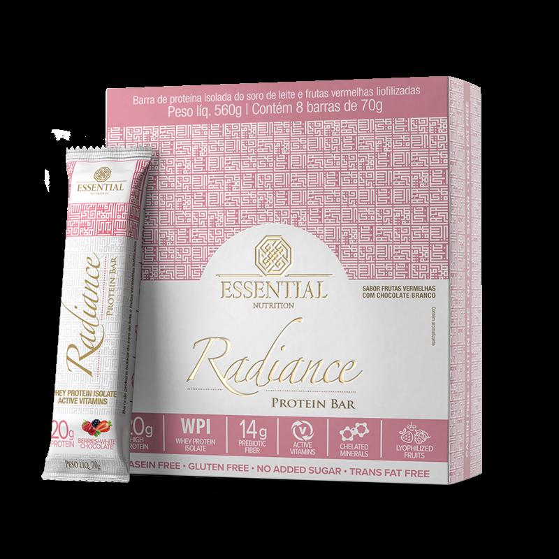 Radiance Protein Bar (8unid-70g) Essential Nutrition