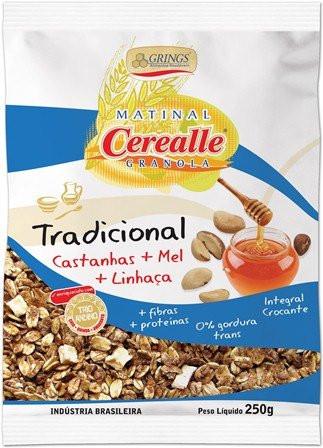 Cerealle Granola Tradicional 250g - Grings