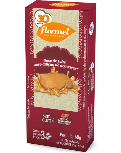 Doce de Leite (60g) Flormel