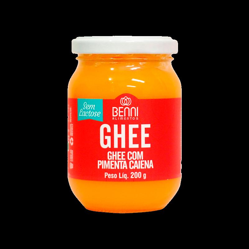 Manteiga Ghee com Pimenta Caiena (200g) Benni