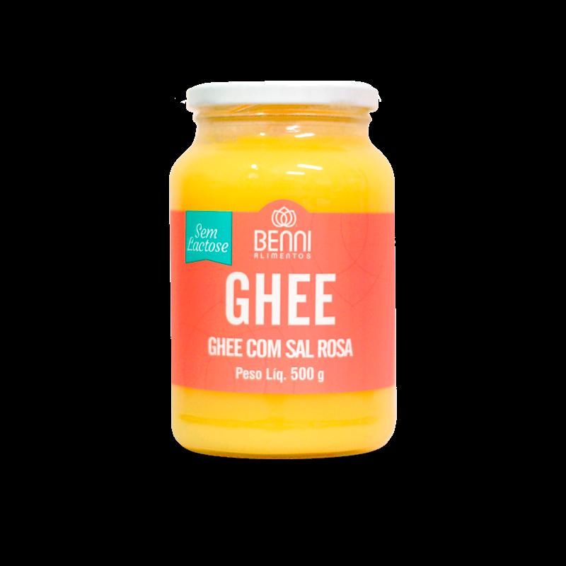 Manteiga Ghee com Sal Rosa do Himalaia (500g) Benni