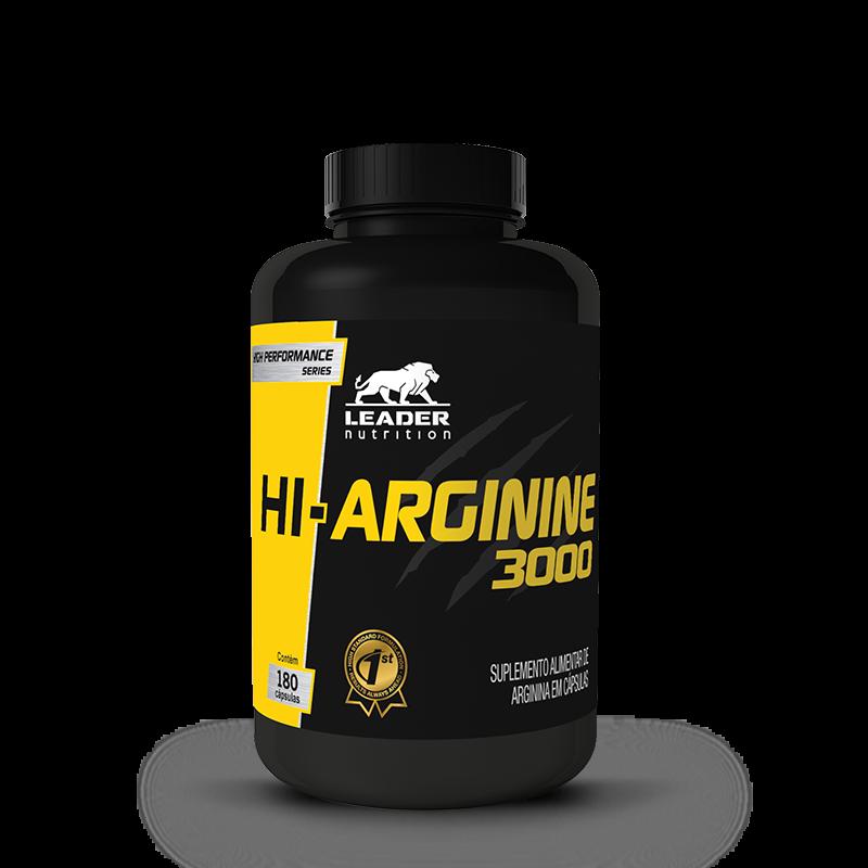 HI-Arginina 3000 (180caps) Leader Nutrition