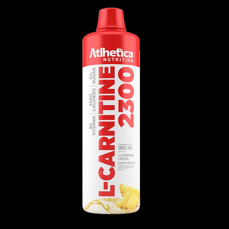 L-Carnitina 2300 (960ml) Atlhetica Nutrition