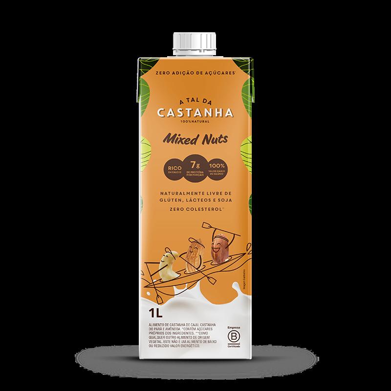 Bebida a Base de Castanha (1000ml) A tal da Castanha-Mixed Nuts