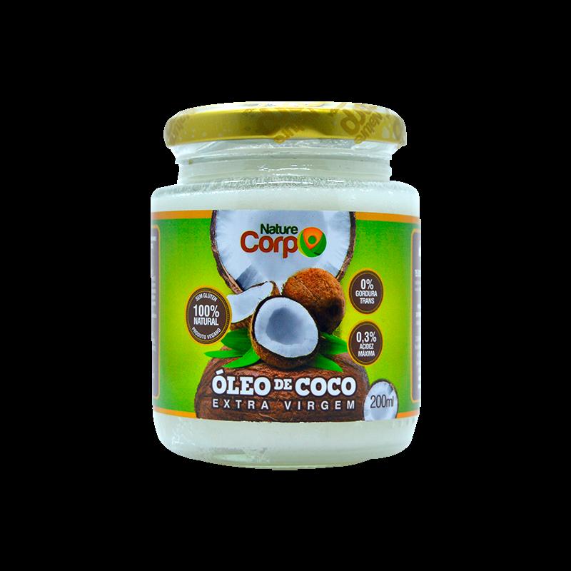 Óleo de Coco (200ml) Nature Corp