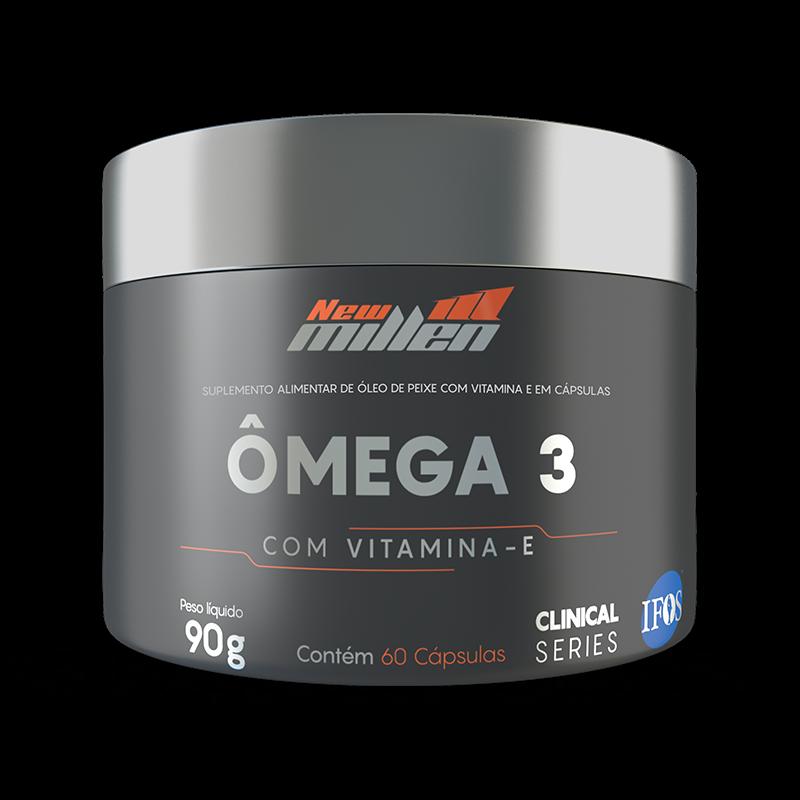 Ômega 3 com Vitamina E (60caps) New Millen