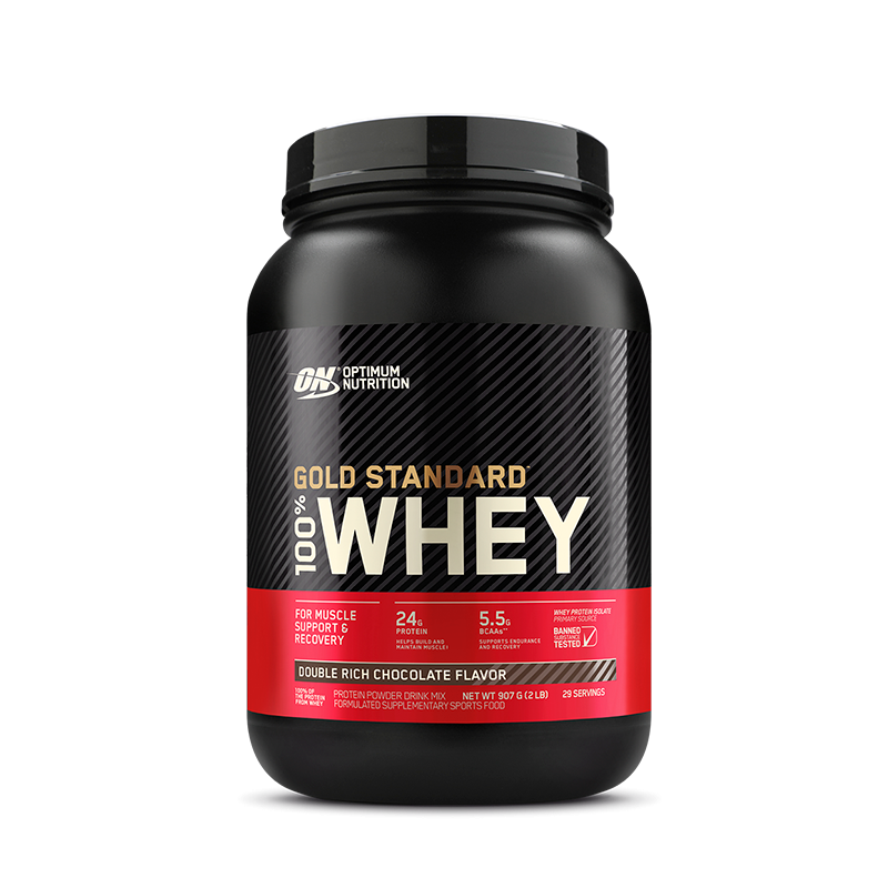 100% Whey Protein (1.9lb/900g) Optimum Nutrition