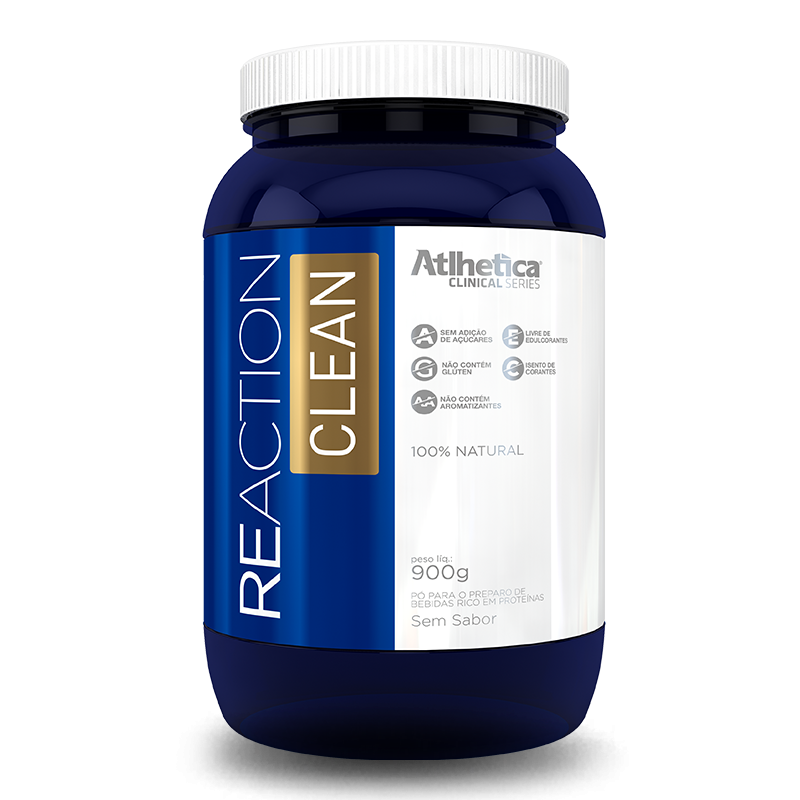 Reaction Clean (900g) Atlhetica Nutrition