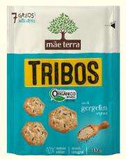 Snack Tribos Gergelim (50g) Mãe Terra