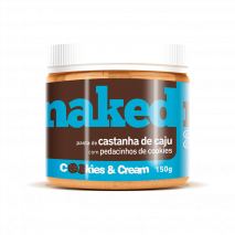 Pasta de Castanha de Caju com Cookies (150g) Naked Nuts - 40% OFF