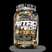 Nitro Tech 100% Whey Gold Camuflada (1113g) MuscleTech