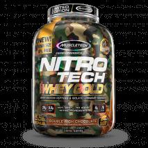 Nitro Tech 100% Whey Gold Camuflada (2500g) MuscleTech