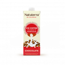 Café Gelado Com Bebida de Amêndoas (1000ml) Natuterra-Chocolate