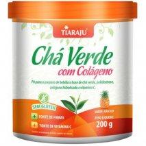 Chá Verde com Colágeno (200g) Abacaxi Tiaraju