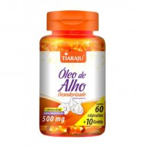 Óleo de Alho desodorizado 500 mg (70Caps) Tiaraju
