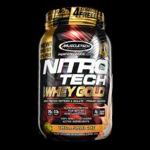 Nitro Tech 100% Whey Gold (999g) MuscleTech-Vanilla Funnel Cake (1006g)