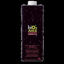 BiO2 Juice Cranberry e Hibiscus (1000l) BiO2