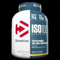 ISO 100 - 100% Hidrolyzed (4.9lb/2258g) Dymatize