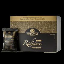 Radiance Bites Protein Bar (15unid-23g) Essential Nutrition