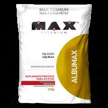 Albumax (500g) Max Titanium-Morango