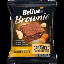 Brownie Caramelo com Castanha do Pará (40g) Belive