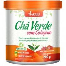 Chá verde com colágeno (200g) Frutas Vermelhas Tiaraju