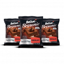 Combo Brownie Chocolate Zero (3unid-40g) Believe