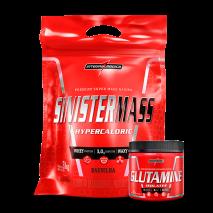 Sinister Mass (3000g) + Glutamina (150g) IntegralMedica